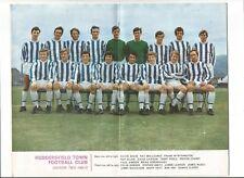 Football League Review  - Colour Picture: Huddersfield Town Div. 2 1969-70