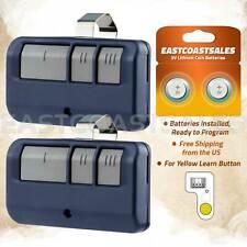 2 For Chamberlain LiftMaster Craftsman Garage Door Opener Blue 3b 893LM 953EV-P2
