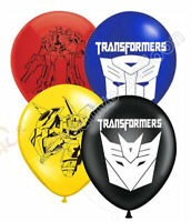 8 Transformers Latex Balloons Birthday Party Decoration Supply