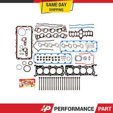 Full Gasket Set Head Bolts for 97-99 Ford 4.6L V8 WINSOR VIN 6 SOHC 16-Valve