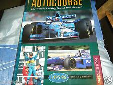 AUTOCOURSE 1995 1996 MICHAEL SCHUMACHER NIGEL MANSELL RUBENS BARRICHELLO F1 GP