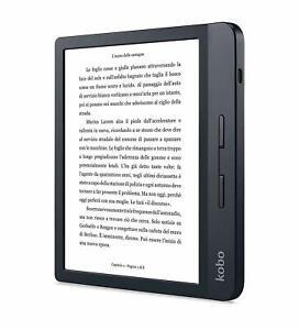 Kobo Libra H2O Lettore e-book Touch Screen 8 GB Wi-Fi Nero