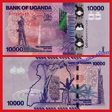 UGANDA 10000 Shillings 2015 (2016) Pick 52d  SC / UNC