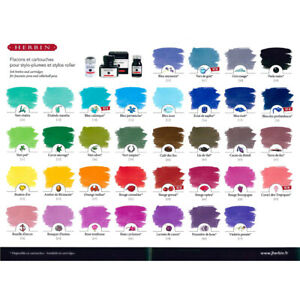 J HERBIN 10ml Fountain Pen Ink Bottle - 35 Brilliant Colours Available