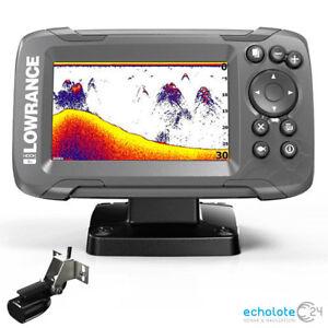 Lowrance Hook2 4x Bullet mit Geber Echolot Fischfinder