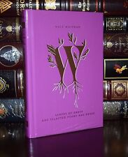 Leaves of Grass Poems & Prose by Walt Whitman New Sealed Deluxe Hardcover Gift