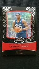 LeBRON JAMES 2007-08 TOPPS ECHELON RED PARALLEL #25/50 NON-CHROME REFRACTOR LIKE