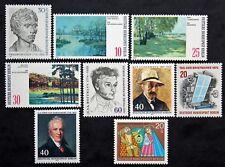 Sello BERLIN (ALEMANIA) 9 sellos de 1972 n (Cyn28) Stamp