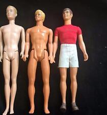 Barbie KEN Doll Lot 3 Through The Years Asst 1963 Orig Sunset Malibu Walk Lively