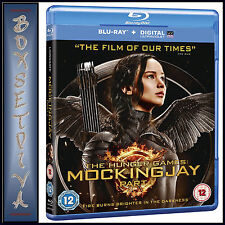 THE HUNGER GAMES - MOCKINGJAY PART 1 **BRAND NEW BLU-RAY**