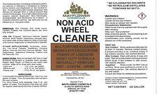 1 Gallon WHEEL RIM TIRE RUBBER BRAKE DUST CLEANER NON-ACID CHROME ALUMINUM