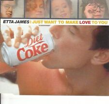 ETTA JAMES I JUST WANT TO MAKE LOVE TO YOU STORMY WEATHER 3 TRACK CD SINGLE