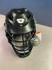 Warrior Burn Lacrosse Helmet - Small - Matte Black / Black Cage - Floor Model