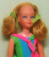 1970 MATTEL DRAMATIC NEW LIVING SKIPPER DOLL & DRESS