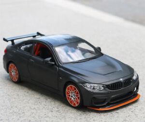 Maisto 1:24 Racing Sports Car Model Alloy Boys Vehicles Toys-Gray For BMW M4 GTS