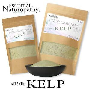 KELP POWDER ATLANTIC 100% Certified Organic IODINE MINERAL RICH Premium Quality