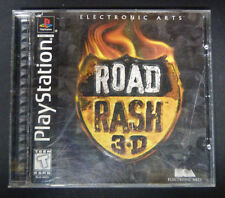 Road Rash 3D (Sony PlayStation, 1998) Complete