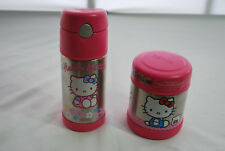Thermos Stainless Steel Hello Kitty soup cup & Cup