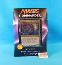 Invent Superiority Commander Deck Magic the Gathering MTG 2016 WotC Sealed