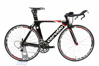 2012 Cervelo P2 Carbon Fiber TT / Tri Bike Medium 51 cm Shimano Ultegra 20 Speed