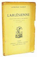 L'Arlesienne ~ First Edition ~ Alphonse Daudet ~ 1885 Scarce Book Original Wraps