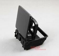 Black Central Console Armrest Rear Cup Holder For VW Rabbit GTI MK5 MK6 EOS