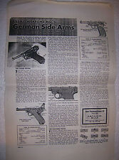 WW II ENEMY WEAPONS NO.1-LUGER & WALTHER PISTOLS - COPY