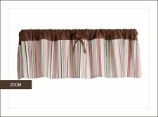 "Bananafish ""Lola"" Window Valance - Pink/Brown"