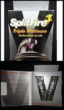Splitfire 3 Bujías-Triple platino TP416B un par (hibridación genómica comparada)
