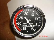 RPM Tractor Hour Meters Heavy Equipment Gauges for sale | eBay