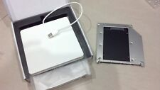 Apple Macbook Pro Mac 2nd hdd Module Caddy + Superdrive USB Enclosure SATA