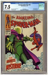 Amazing Spider-Man 66 (CGC 7.5) Mysterio appearance; Green Goblin cameo A636