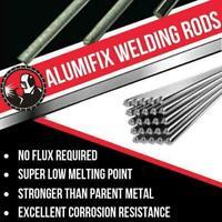 10PCS Alumifix™ Super Melt Flux Cored Aluminum Easy Welding Rods High Quality