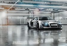 368x254cm Giant wall mural photo wallpaper Audi R8 chlildrens room decor car