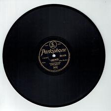 78T Gino BORDIN HAWAÏEN Disque LASCIVITE -JOLIES FLEURS HAWAII -PARLOPHONE 80436