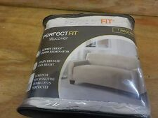 Perfect Fit® Stretch Fit Microsuede Sofa Slipcover in Ivory