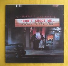 Elton John Lp incl booklet Don't Shoot Me I'm Only The Piano Player
