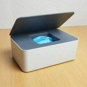 Wet Wipes Dispenser Storage Box Case with Lid Home Office Tissue Box Covers