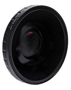 Opteka 0.4x Fisheye Lens for Canon XF305 XF300 & Sony PXW-Z190 Video Camcorders