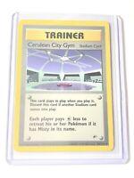 Uncommon Trainer Pokemon Card NM//M SAFFRON CITY GYM Gym Challenge 122//132