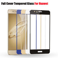Fits Huawei P9 P10 Plus P8 Lite Full Screen Protector Film Cover Tempered Glass