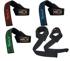 NEW GEL Padded Weight Lifting Training Wrap Gym Straps Hand Bar Wrist Support