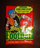 1990 Topps Football Wax Pack Choose Quantity Marino,Rice