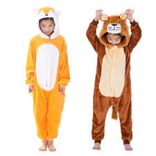 Kids Boy's Girls Animal Jumpsuits Pajamas Cosplay Fancy Dress Kigurumi Sleepwear