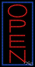 """New """"Open"""" 32x17 Border Solid/Animated Led Sign w/Custom Options 21757"""