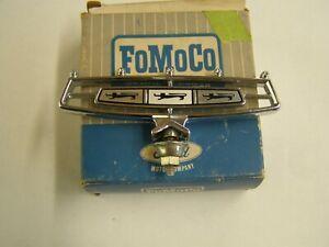 NOS OEM Ford 1966 Galaxie 500 Hood Ornament Emblem XL LTD Trim