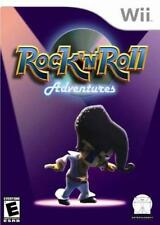 Rock n Roll Adventures Guitar+Drums+++ Nintendo Wii NEW