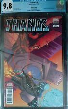Thanos #16 (2018) 2nd Print Variant Origin Cosmic Ghost Rider CGC 9.8 KEY BOOK