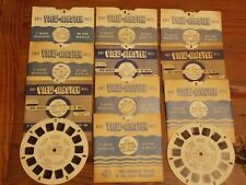 VIEW MASTER REELS 12 TOTAL NATIONAL PARKS AND MORE