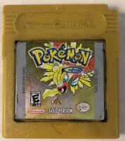 Pokemon: Gold Version (Game Boy Color, 2000) GBC Cart Only Battery Dead No Save